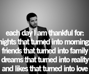 Drake, text, and quote image
