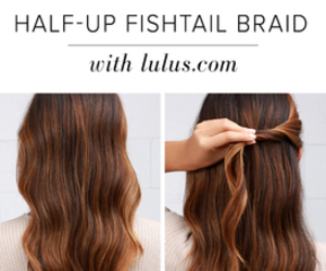 braid, fishtail, and diy image