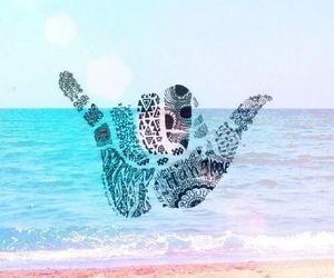 beach, background, and summer image