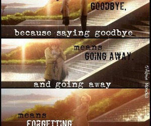 anime, goodbye, and angel beats image