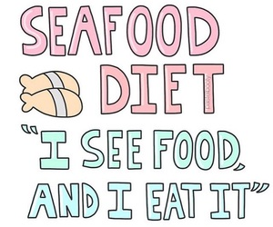 diet, food, and seafood image