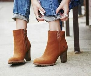 boots, heels, and brown image