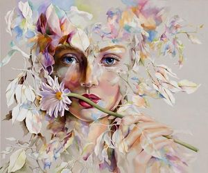 flowers, art, and beautiful image