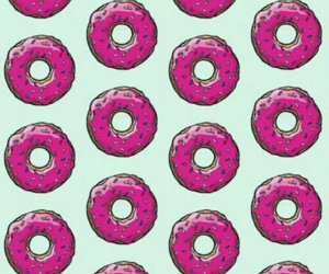 donuts, food porn, and happy image