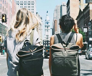 friends, girl, and style image