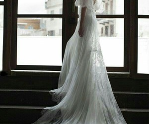 fashion, ventage, and gown image