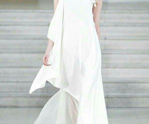 gown, love, and wedding gown image