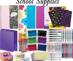 color, study, and supplies image