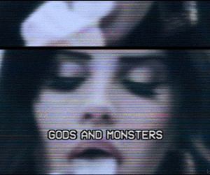lana del rey, gif, and monster image