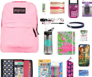 study and back to school image