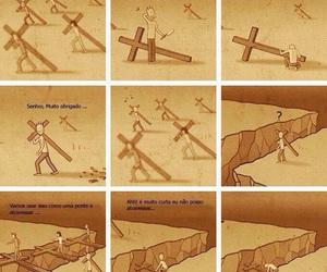 cross, god, and life image