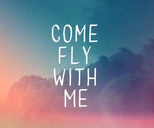 fly, me, and sky image