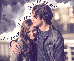 if i stay, movie, and chloe grace moretz image