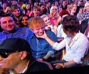 ed sheeran and Harry Styles image