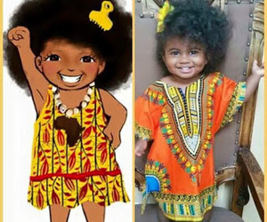 baby, black baby, and cute thing image