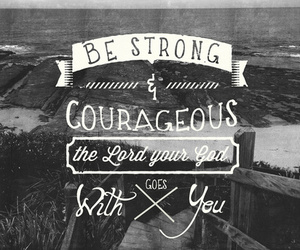 god, courageous, and quote image