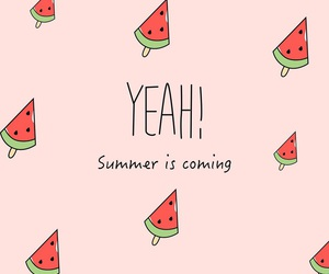 watermelon, wallpaper, and summer image