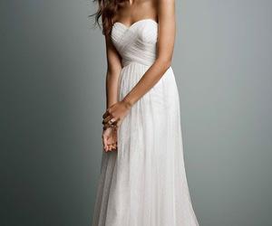dot tulle wedding dress image