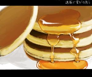 honey, pancake, and yummy image
