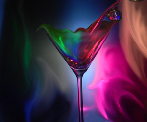 color, drink, and party image