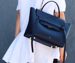 bag, leather, and celine image