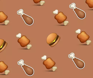 burger, food, and emoji image
