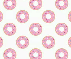 donut, funny, and wallpaper image