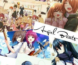 anime, angel beats, and angel beats anime image