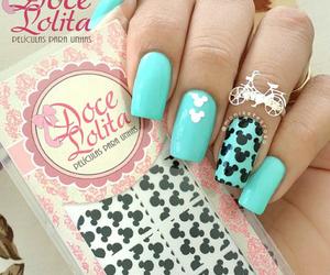 fashion, nail, and nail art image
