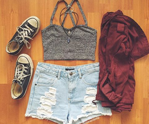clothes, girl, and gorgeous image