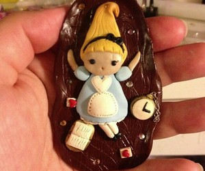 alice in the wonderland, fimo, and polymer clay image