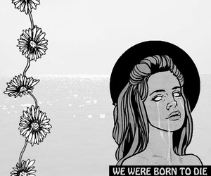 lana del rey, grunge, and born to die image