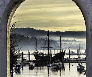 beautiful, boats, and cottage image