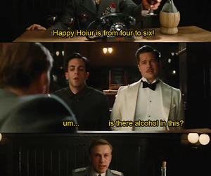 inglorious basterds, mean girls, and lmao image