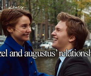 Relationship, tfios, and hazel image