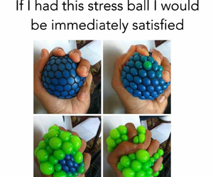 stress and ball image