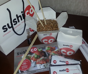 food, japanese, and noodle image