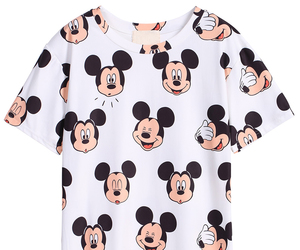 disney, fashion, and mickey mouse image