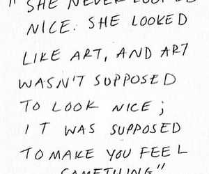 art, quotes, and feelings image