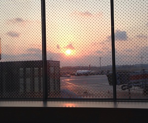 airport, beautiful, and waiting image