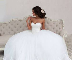 beautiful, princess, and princess wedding dress image