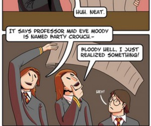 harry potter, funny, and book image