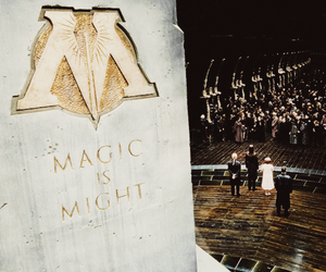 harry potter, magic, and ministry of magic image