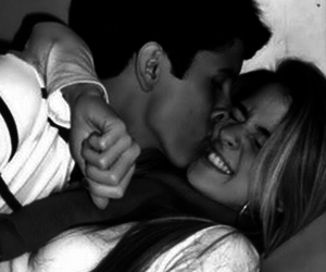 black and white, you, and boyfriend image