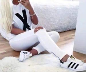 adidas, vintage, and girl image