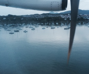 boats, take off, and travel image