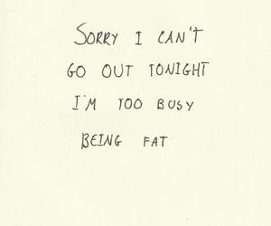 fat, text, and quote image