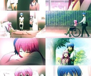 anime, angel beats, and anime couple image