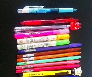 pen, it love, and school image