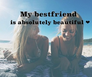 best friends, smile, and friends image